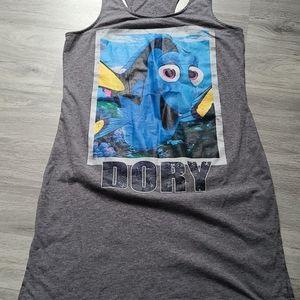 Disney Finding Dory Tank Dress